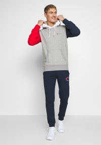 Champion - ROCHESTER TEAM HOODED - Bluza z kapturem - grey