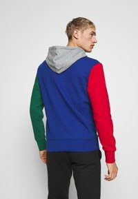Champion - ROCHESTER TEAM HOODED - Bluza z kapturem - blue/red/green/grey melange - 2