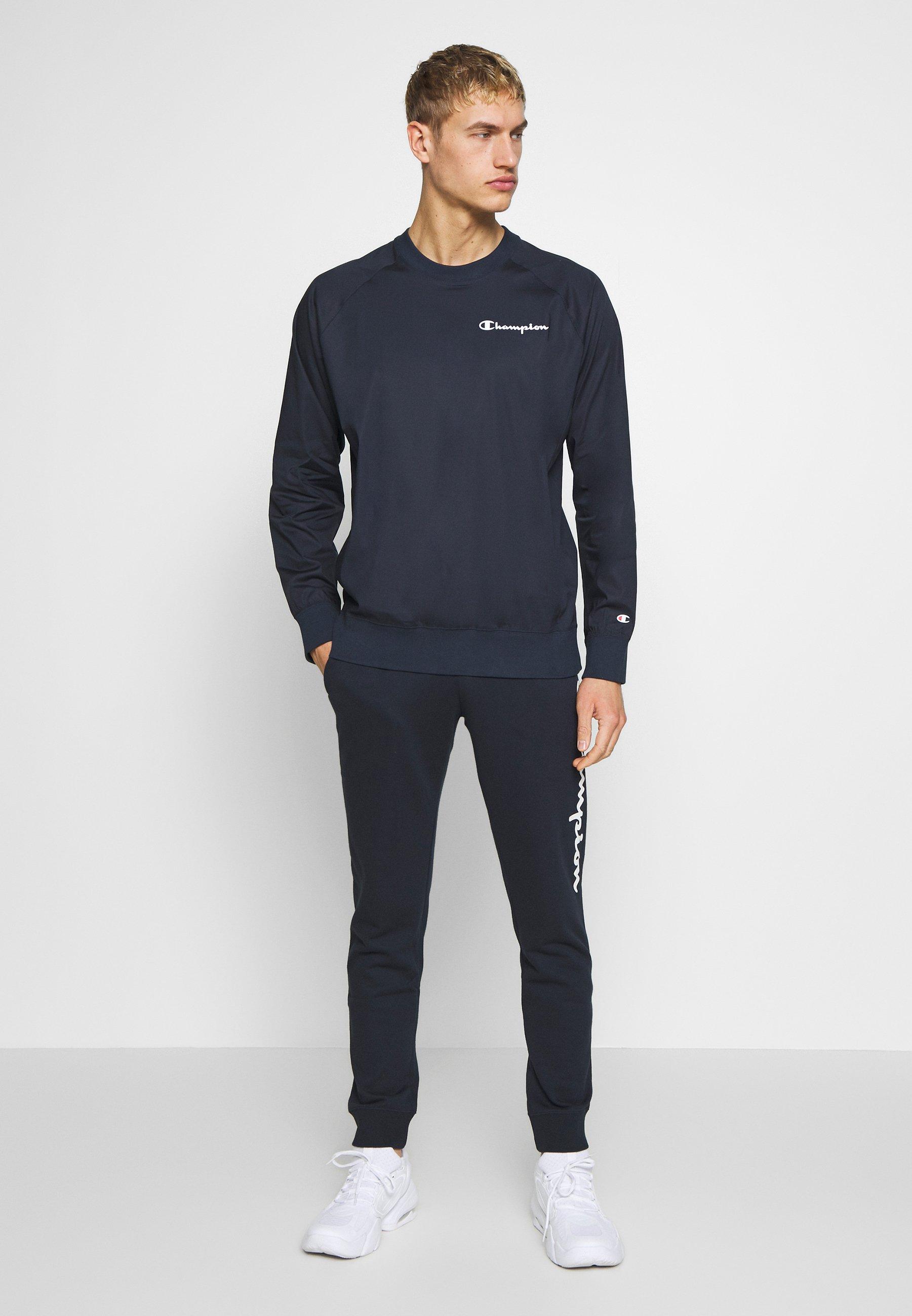 Champion Elastic Crewneck - Sweatshirt Dark Blue