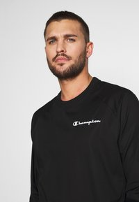 Champion - ELASTIC CREWNECK - Sweatshirt - black - 3