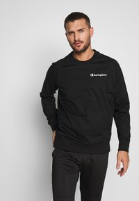 Champion - ELASTIC CREWNECK - Sweatshirt - black - 0