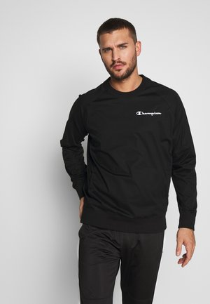 ELASTIC CREWNECK - Sweater - black