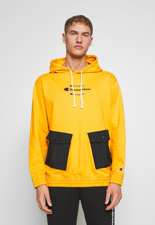 ROCHESTER WORKWEAR HOODED - Mikina s kapucí - mustard yellow