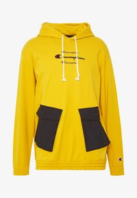 Champion - ROCHESTER WORKWEAR HOODED - Mikina s kapucí - mustard yellow - 4