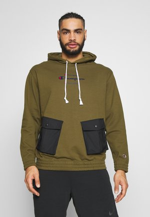 ROCHESTER WORKWEAR HOODED - Bluza z kapturem - olive