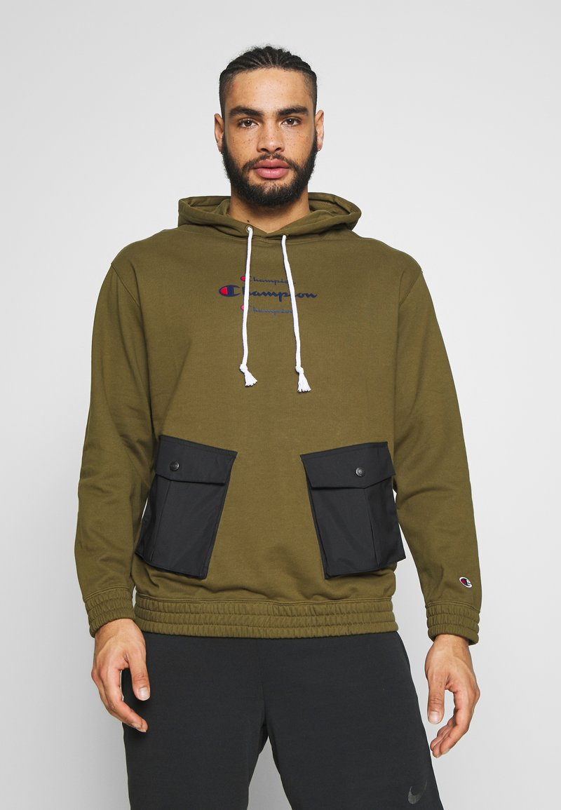 Champion - ROCHESTER WORKWEAR HOODED - Mikina skapucí - olive