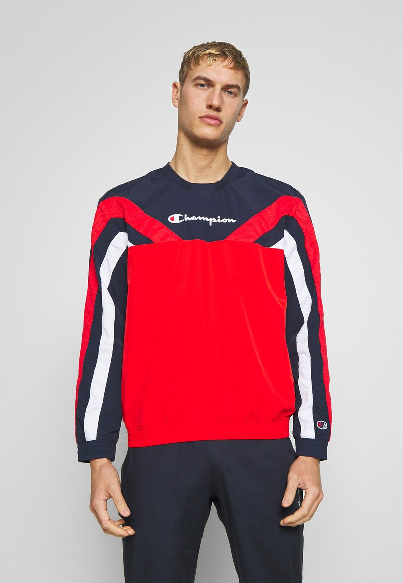 Champion - ROCHESTER ATHLEISURE - Sweatshirt - red/blue/wht