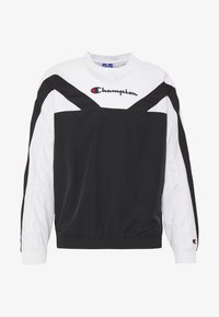 Champion - ROCHESTER ATHLEISURE - Sudadera - black/white - 4