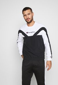Champion - ROCHESTER ATHLEISURE - Sudadera - black/white - 0