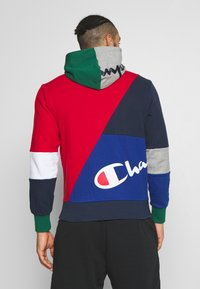Champion - ROCHESTER TEAM HOODED - veste en sweat zippée - red - 2