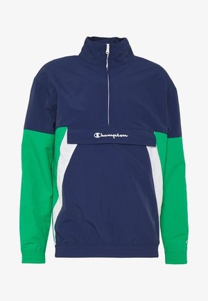 90S BLOCK HALF ZIP - Trainingsvest - dark blue