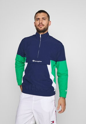 90S BLOCK HALF ZIP - Training jacket - dark blue