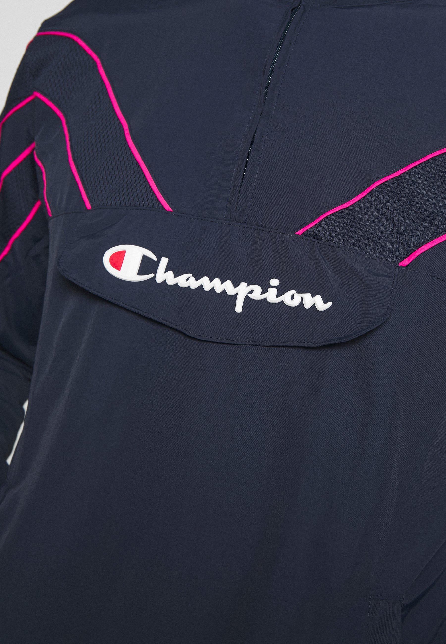 Champion ROCHESTER ATHLEISURE HALF ZIP - Kurtka sportowa - dark blue
