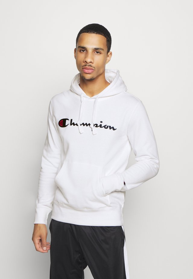 ROCHESTER HOODED - Hoodie - white