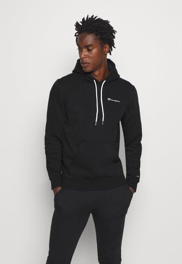 LEGACY HOODED - Bluza z kapturem - black