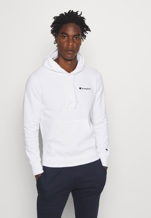 ROCHESTER HOODED - Bluza z kapturem - white