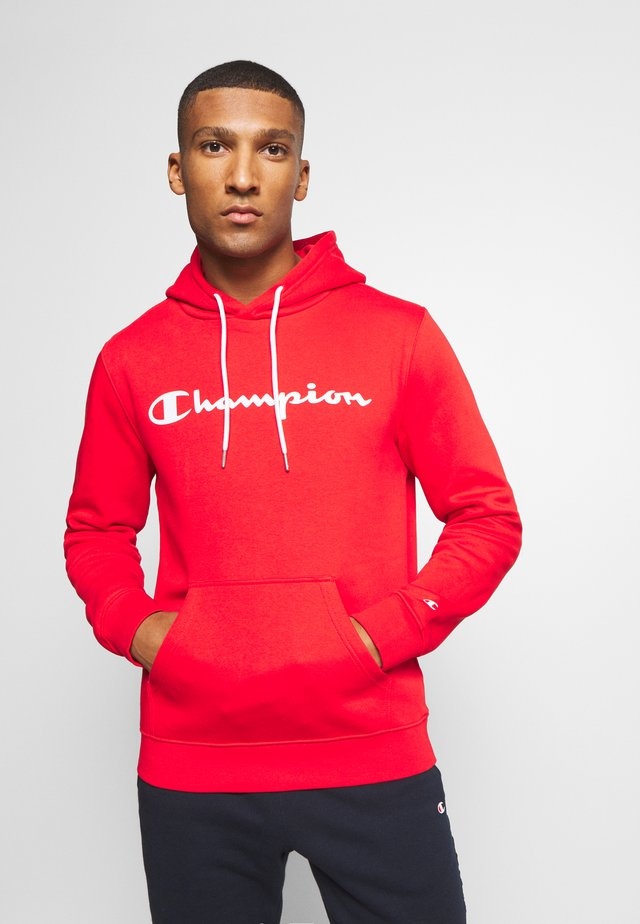 LEGACY HOODED - Jersey con capucha - red