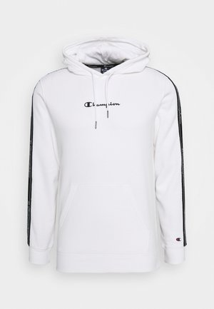 LEGACY TAPE HOODED - Bluza z kapturem - white