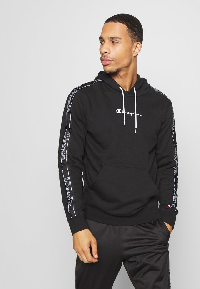 LEGACY TAPE HOODED - Jersey con capucha - black
