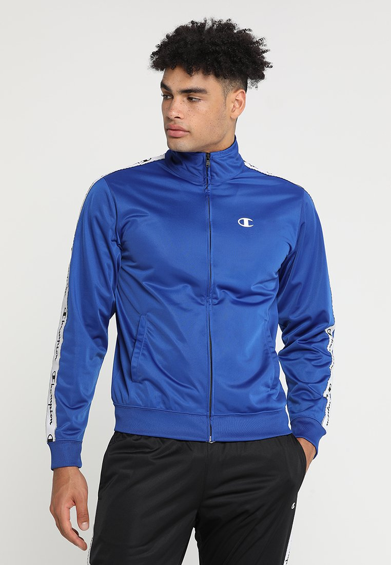 Champion - TRACKSUIT - Tuta - blue/ black
