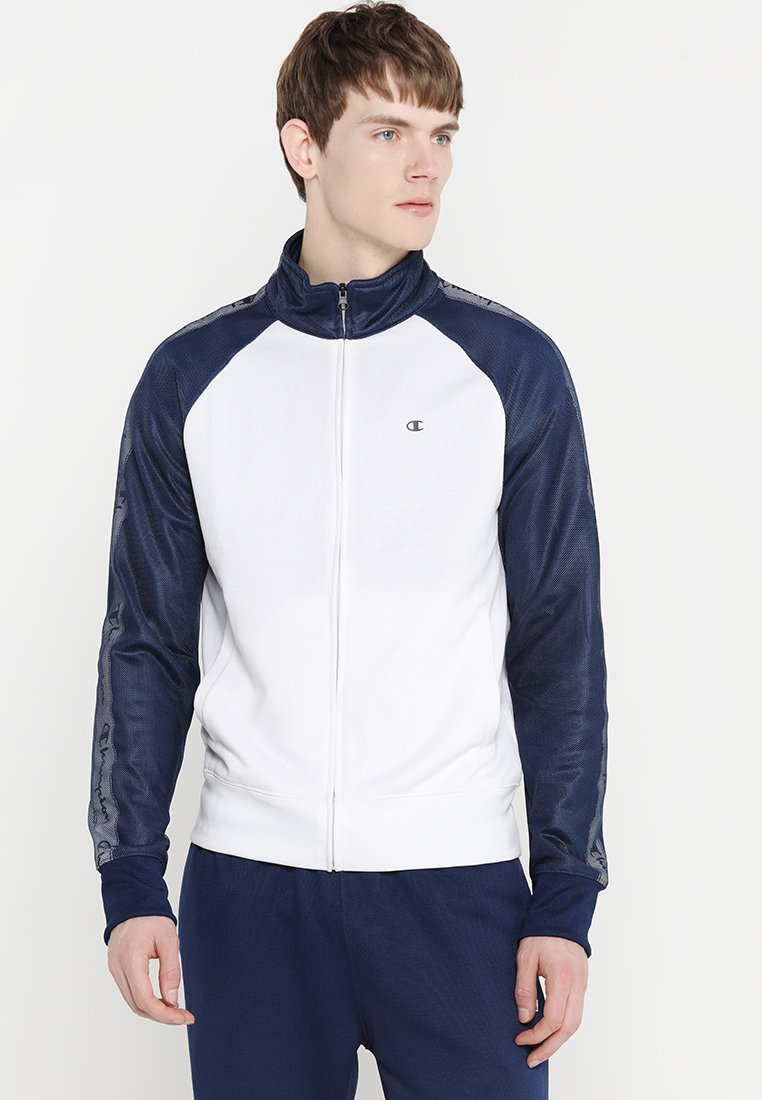 Champion - FULL ZIP SUIT SET - Træningssæt - white