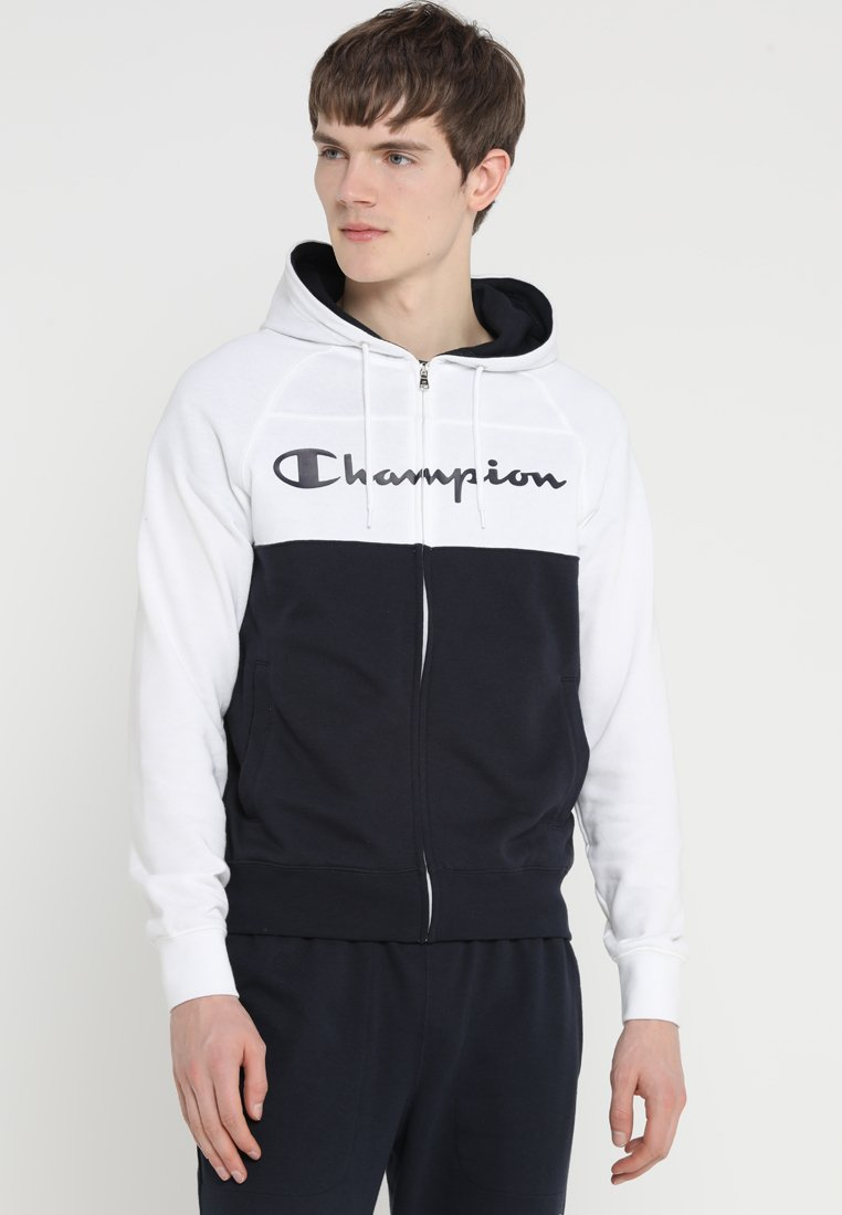 Champion - HOODED FULL ZIP SUIT SET - Tracksuit - white