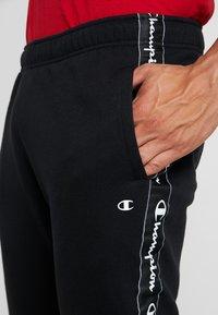 Champion - FULL ZIP SUIT - Trainingsanzug - black - 8
