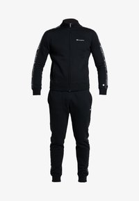 Champion - FULL ZIP SUIT - Trainingsanzug - black - 7