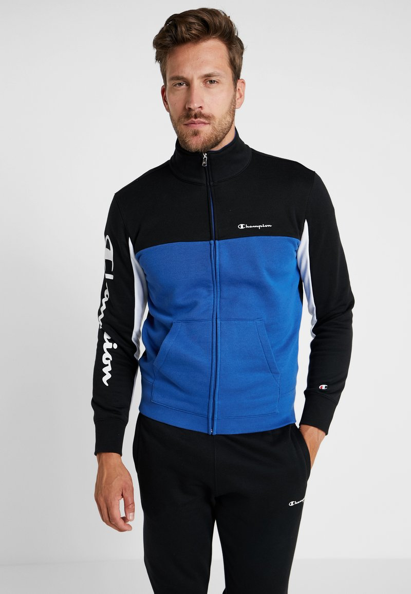 Champion - FULL ZIP SUIT - Trainingsanzug - blue