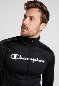 Champion - TRACKSUIT - Træningssæt - black - 6