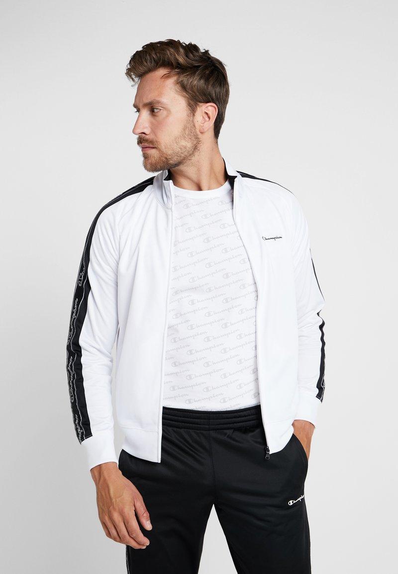 Champion - TRACKSUIT - Trainingsanzug - white