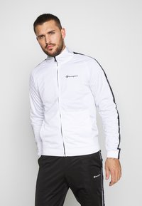 Champion - TRACKSUIT TAPE - Chándal - white - 0