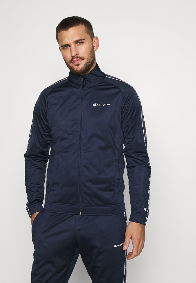 TRACKSUIT TAPE - Tracksuit - navy