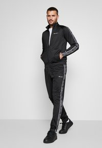 Champion - TRACKSUIT TAPE - Chándal - black - 1