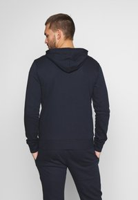 Champion - HOODED FULL ZIP SUIT - Chándal - dark blue - 2