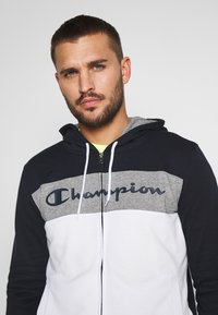 Champion - HOODED FULL ZIP SUIT - Chándal - dark blue - 5