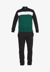 Champion - FULL ZIP SUIT - Trainingspak - black/green/white - 3