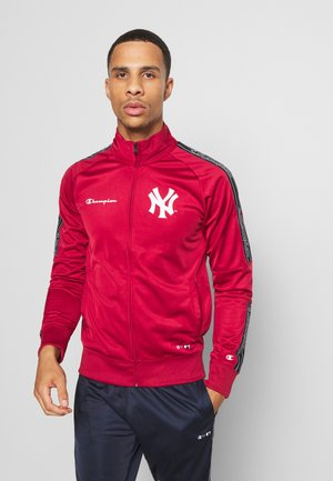 NEW YORK YANKEES TRACKSUIT - Artykuły klubowe - red