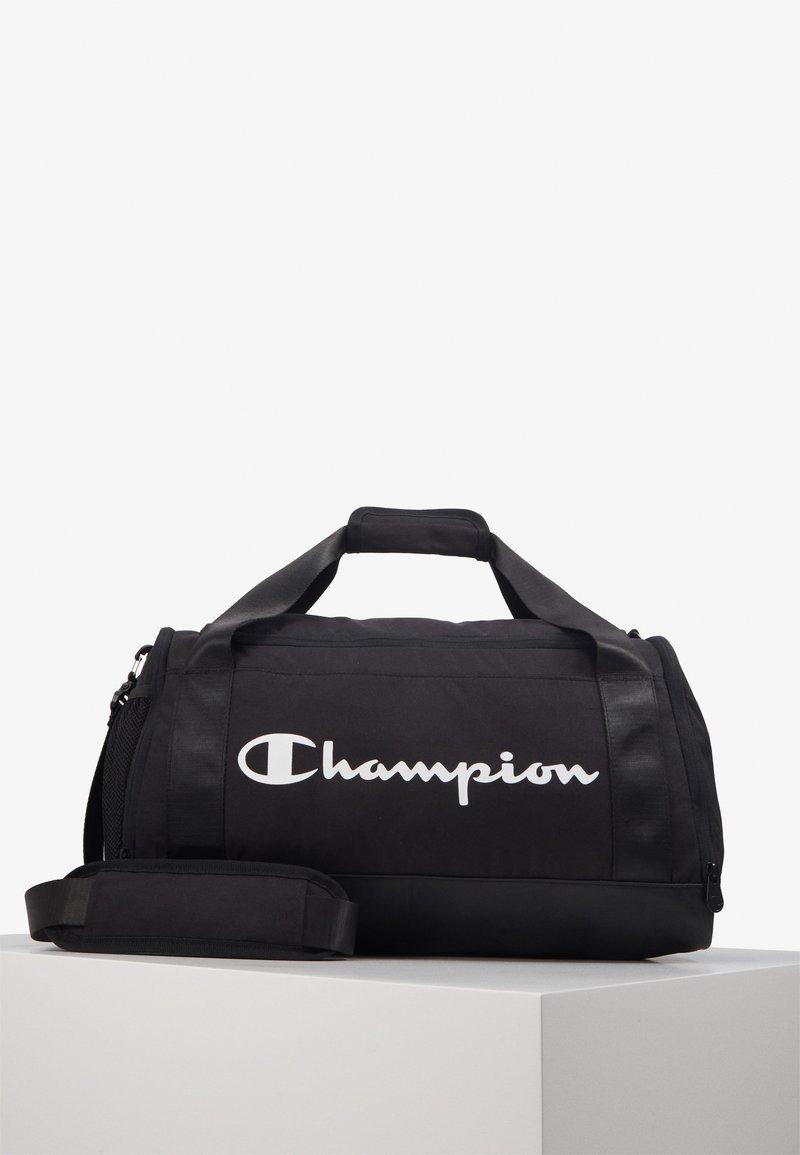 Champion - SMALL DUFFEL - Sportovní taška - black/white