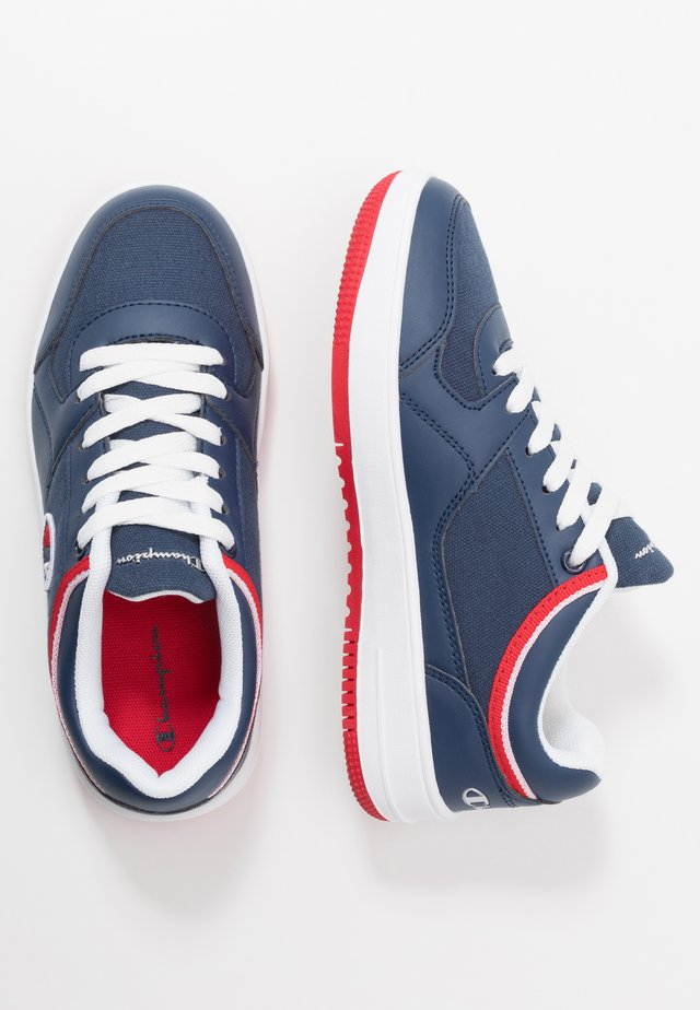 LOW CUT SHOE NEW REBOUND - Basketball shoes - navy