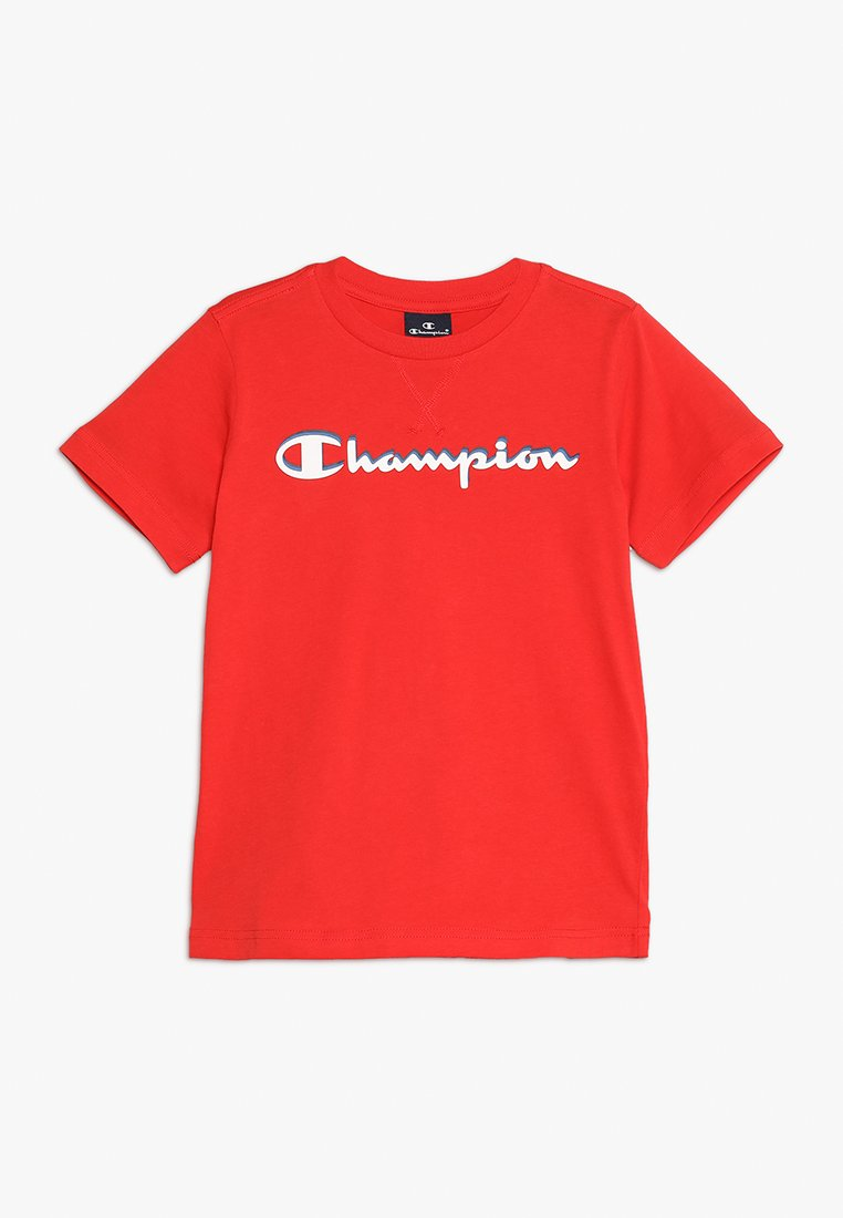 Champion - AMERICAN CLASSICS CREWNECK - T-shirt print - red