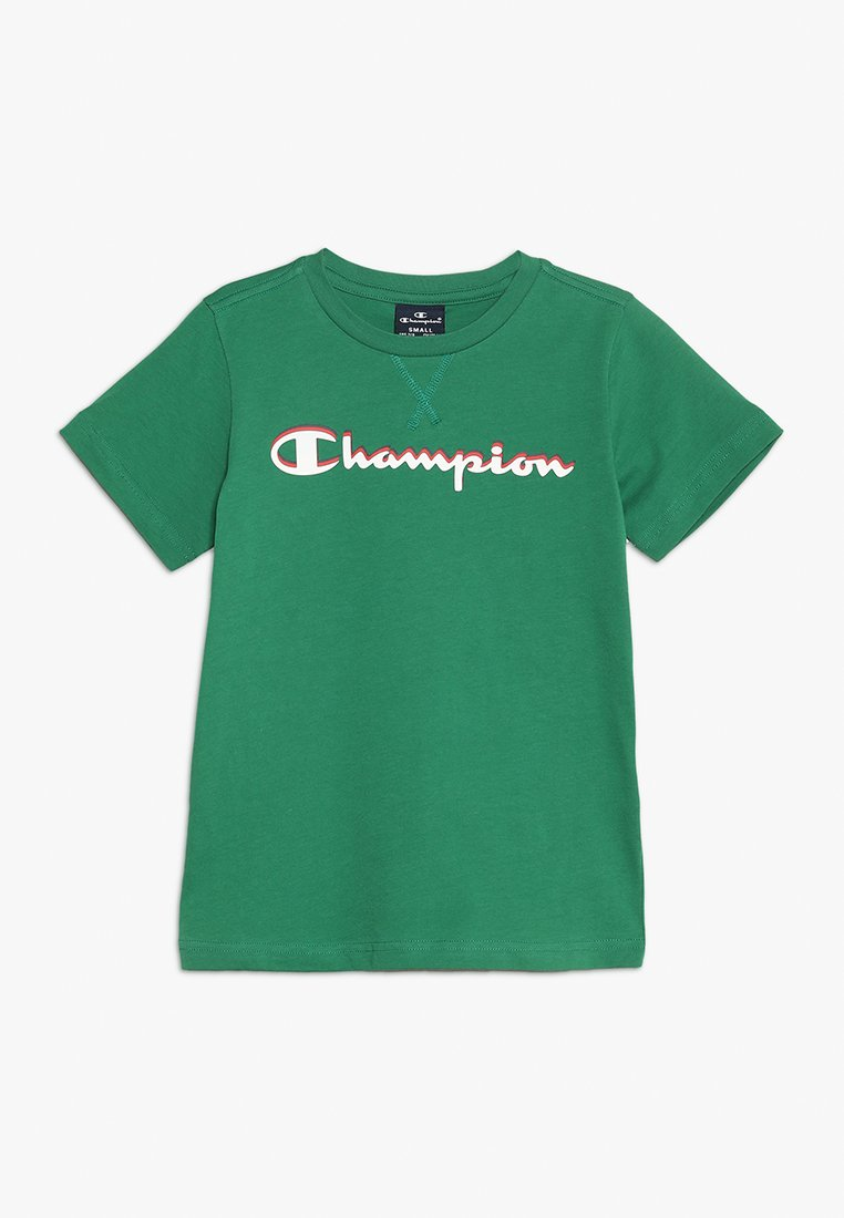 Champion - AMERICAN CLASSICS CREWNECK - Print T-shirt - green