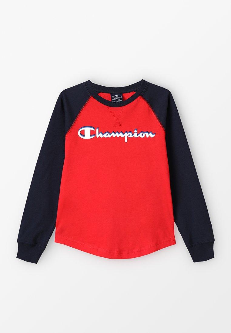 Champion - AMERICAN CLASSICS LONG SLEEVE CREWNECK - Topper langermet - red