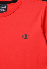 Champion - BASICS CREW NECK 2 PACK - T-paita - red/black - 4