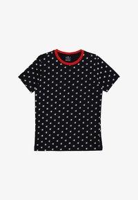 Champion - AMERICAN CLASSICS CREWNECK - T-shirt z nadrukiem - black - 2