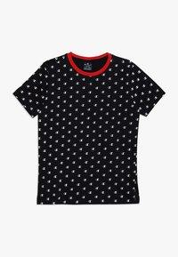 Champion - AMERICAN CLASSICS CREWNECK - T-shirt z nadrukiem - black - 0