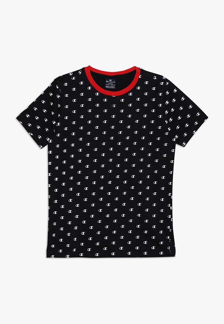 Champion - AMERICAN CLASSICS CREWNECK - T-shirt z nadrukiem - black