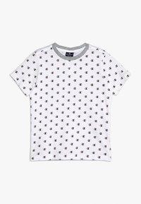 Champion - AMERICAN CLASSICS CREWNECK - Print T-shirt - white/melange - 0