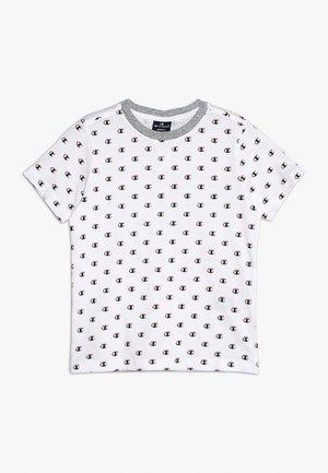 AMERICAN CLASSICS CREWNECK - Print T-shirt - white/melange