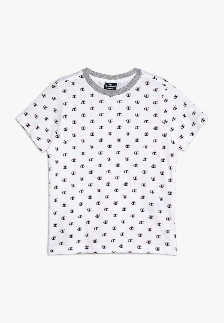 Champion - AMERICAN CLASSICS CREWNECK - T-shirt print - white/melange
